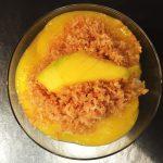 Mango-Limetten-Kokosnuss-Reispudding