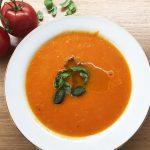 Einfache Tomatensuppe