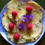 Ananas-Carpaccio
