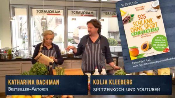 Live-Cooking mit Kolja Kleeberg und Katharina Bachman