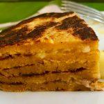 Baumkuchen-Pancake aus Süßkartoffeln