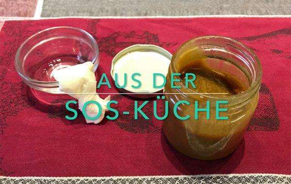 Aus der SOS-Küche - Schraubdeckel-Tipp