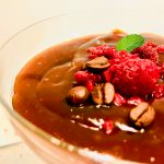 Süßer, kalter Kaffeetraum (Pudding)