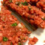Fleischloses Tartar (Zwiebelmett)